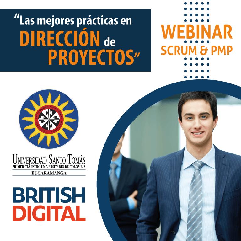 British Digital LLC - Webinar Universidad Santo Tomás - Scrum & PMP
